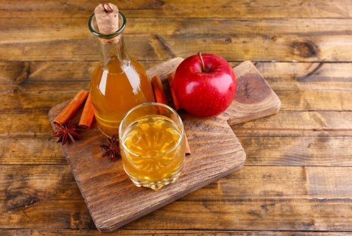 how to tighten face skin - apple cider vinegar