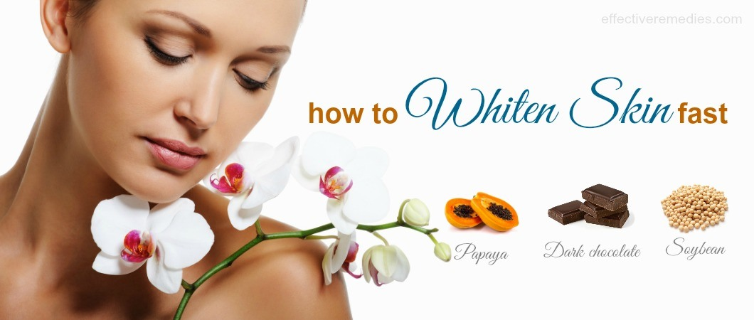 70 Common Tips How To Whiten Skin Fast Naturally At Home