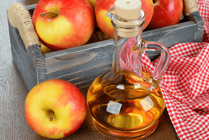 home remedies for diarrhea - apple cider vinegar