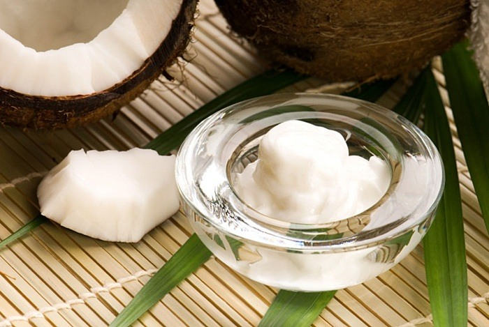 how to tighten belly skin - coconut oil