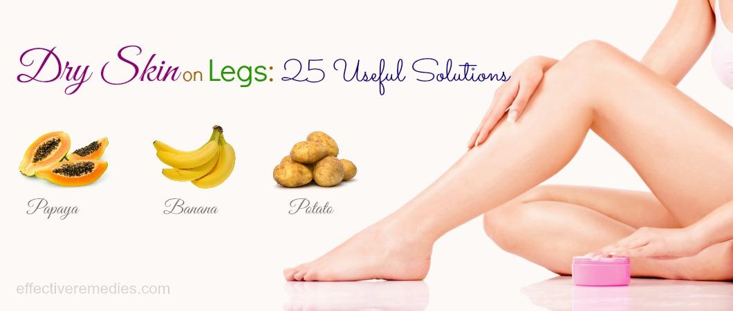 dry skin on legs