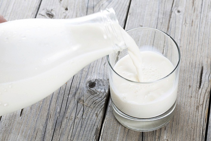 how to tighten belly skin - fresh milk
