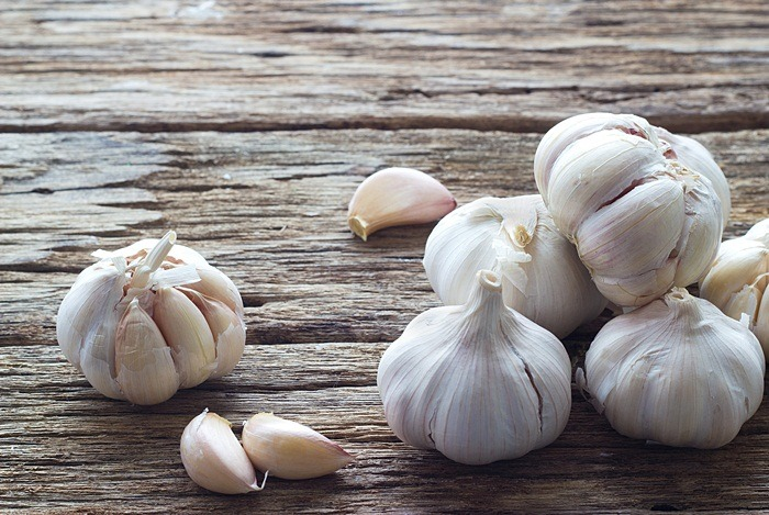 home remedies for fever blisters - crushed garlic