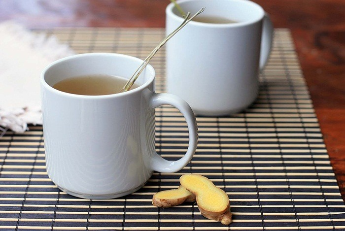 home remedies for constipation - ginger tea