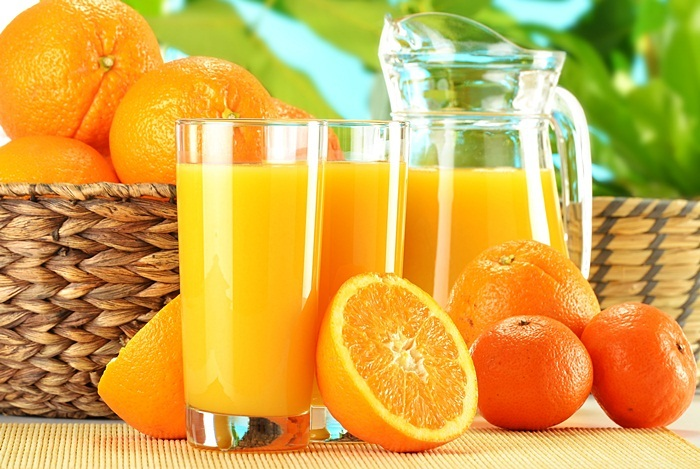 home remedies for diarrhea - orange