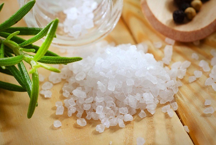 how to tighten belly skin - salt