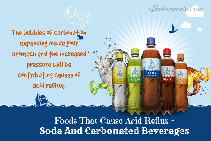 "causes and effects of carbonated beverages But they can also cause uncomfortable gastrointestinal side effects such as  "" because the carbonation comes from gas blended with water,."