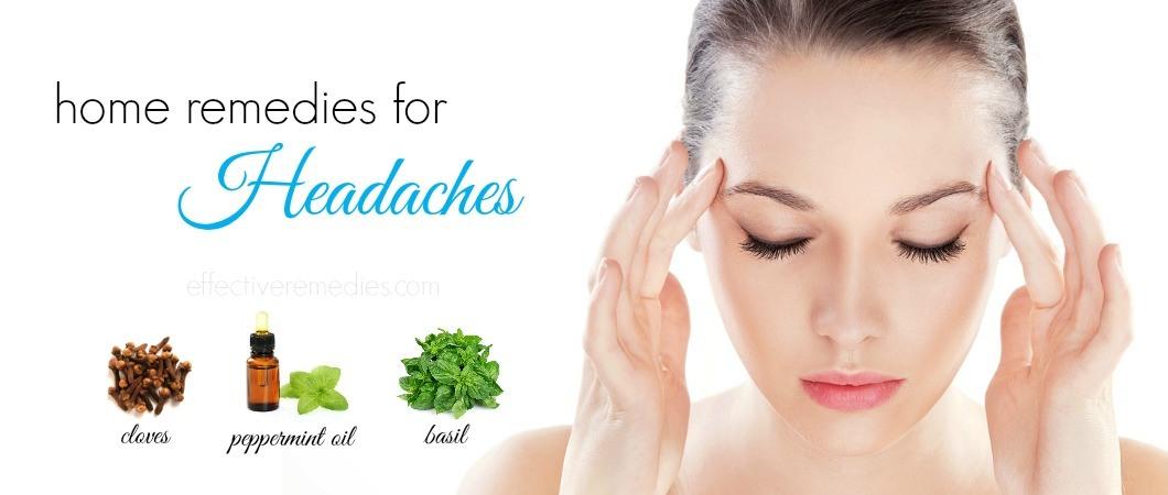 home remedies for headacheshome remedies for headaches