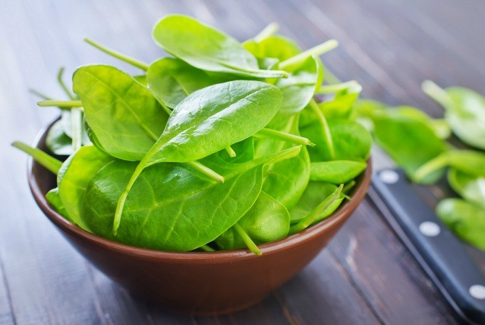 how to grow taller - consume spinach