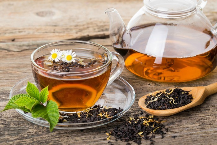 home remedies for bad breath - tea