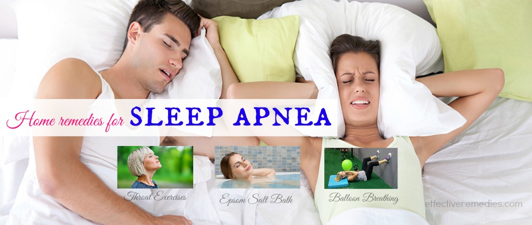 home remedies for sleep apnea