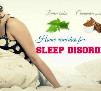 home remedies for sleep disorders