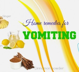 home remedies for vomiting