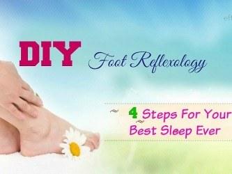 DIY foot reflexology