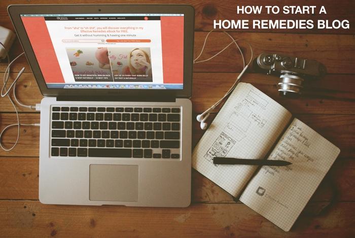 start a home remedies blog