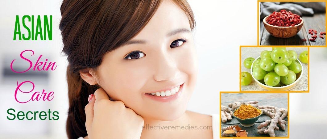 Asian skin care secrets