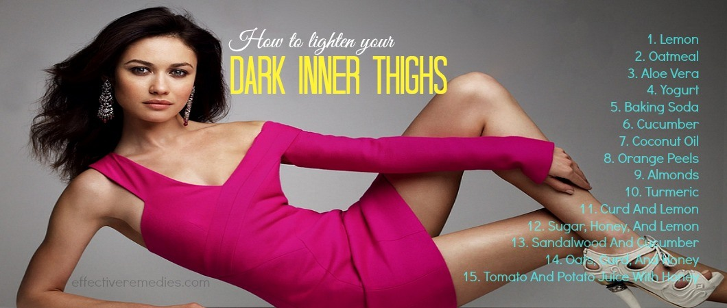 how to lighten your dark inner thighs