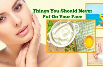 things you should never put on your face