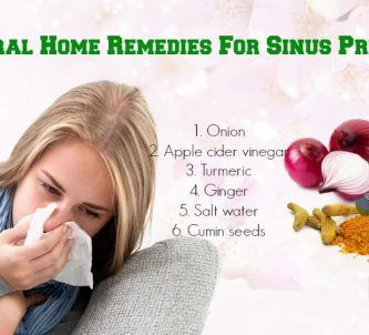 home remedies for sinus pressure