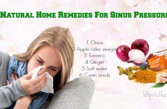 home remedies for sinus pressure