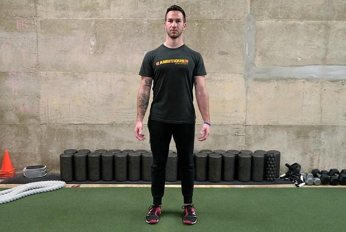 how to straighten spine - standing posture