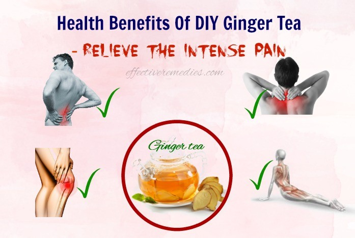 Health benefits of DIY ginger tea