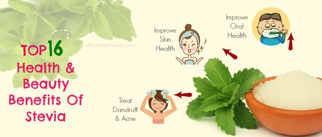 benefits of stevia