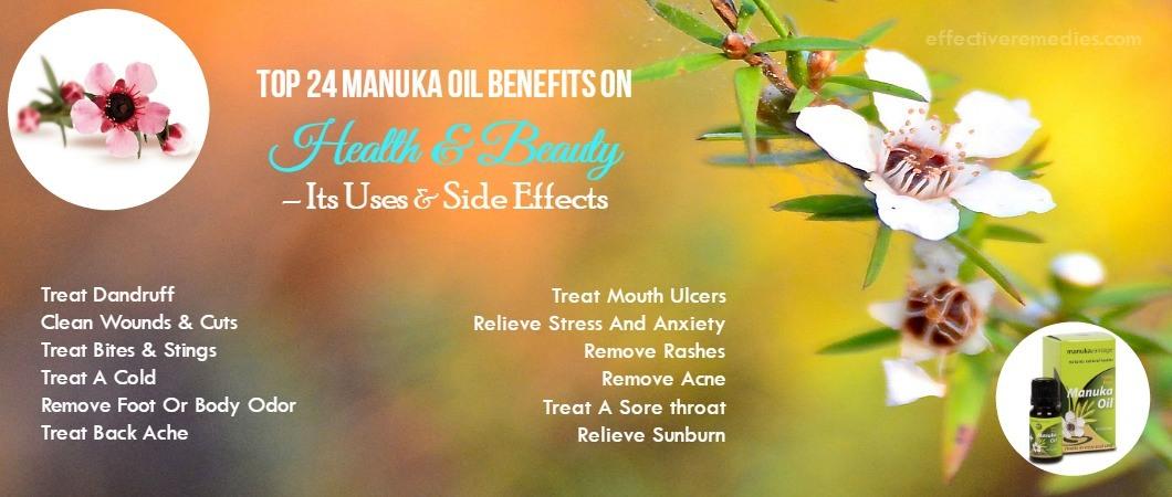 Manuka Oil Benefits