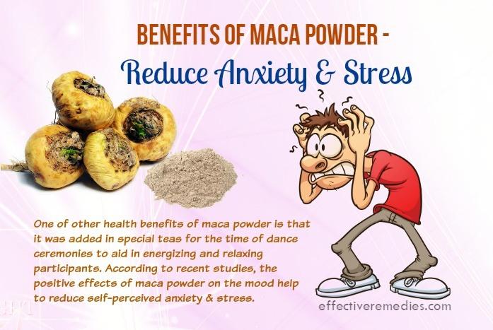 benefits of maca powder