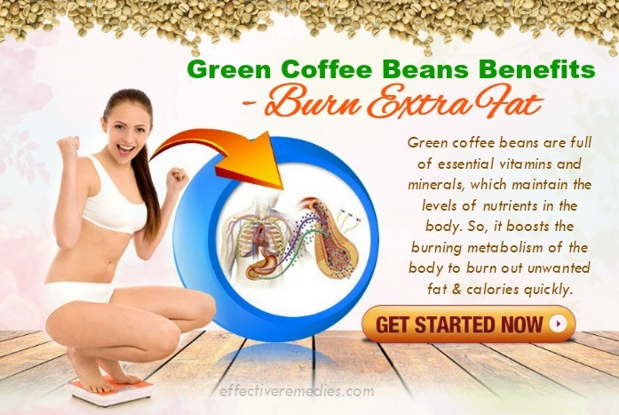 green coffee beans benefits - burn extra fat