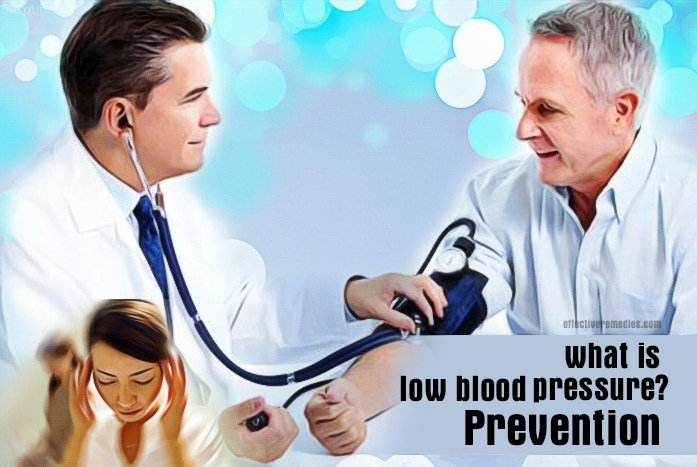 what is low blood pressure - what is low blood pressure prevention