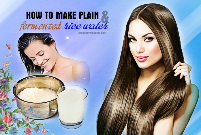 rice water for hair - how to make rice water for hair