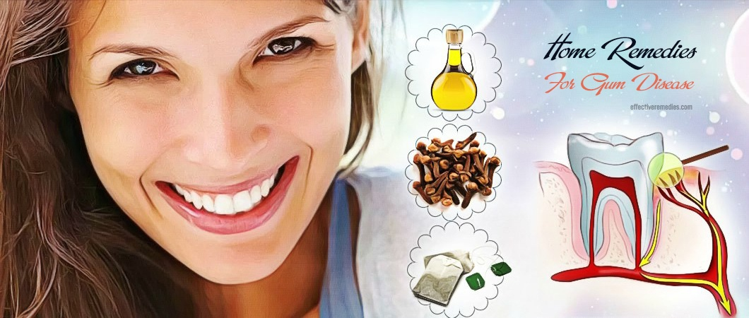 common home remedies for gum disease
