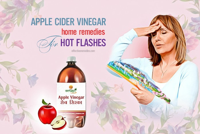 home remedies for hot flashes - apple cider vinegar