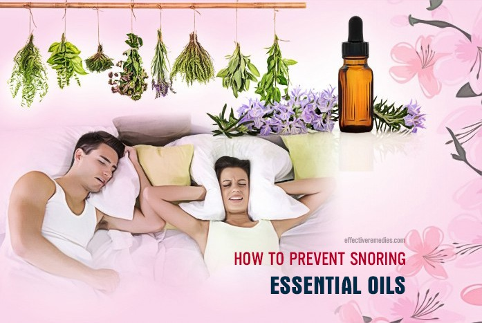 how to prevent snoring - essential oils