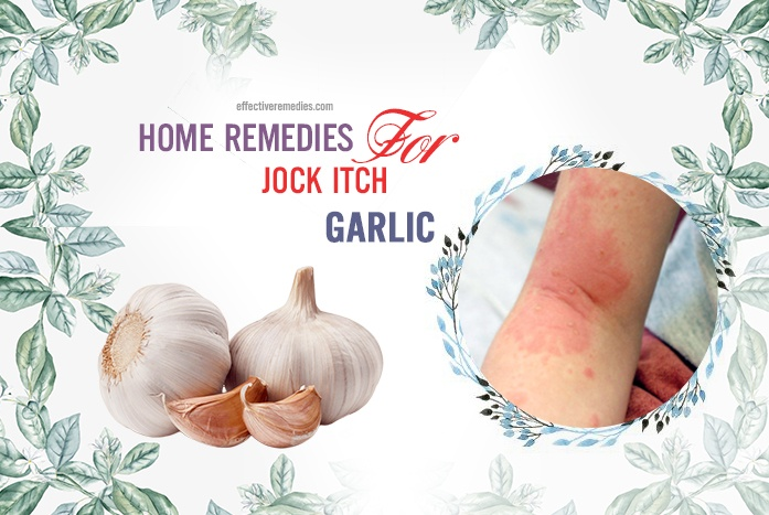 home remedies for jock itch - garlic