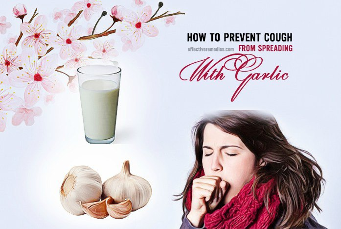 how to prevent cough - spreading with garlic