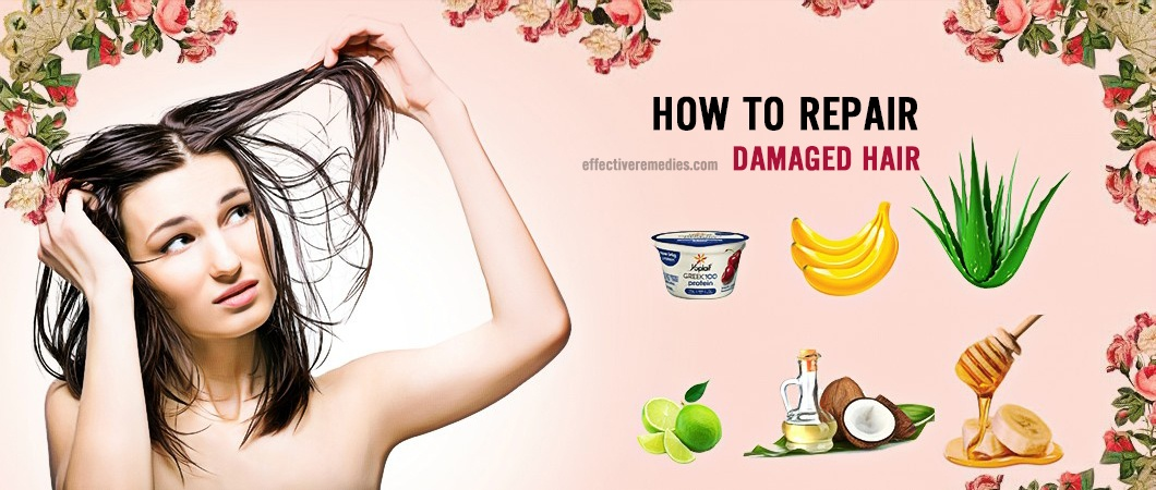 how to repair damaged hair from straightening