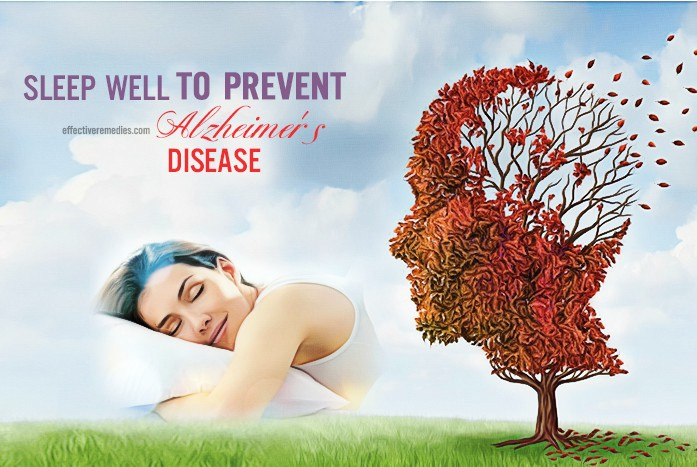 how to prevent alzheimer's disease - sleep well