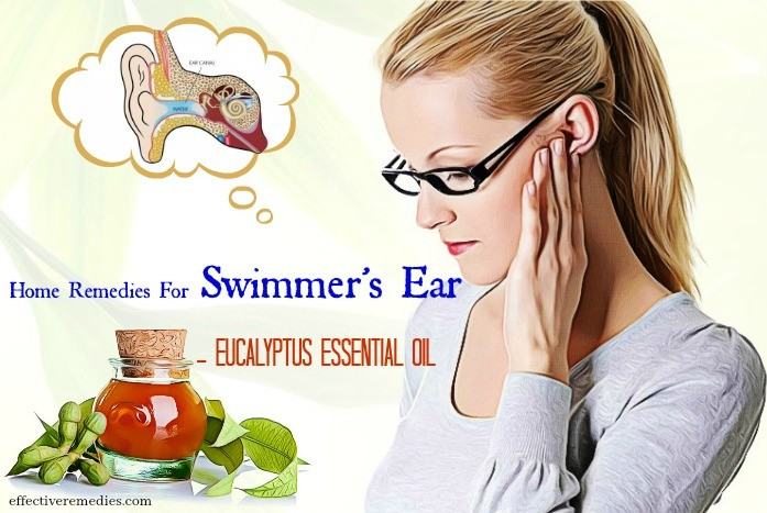 home remedies for swimmer's ear - eucalyptus essential oil