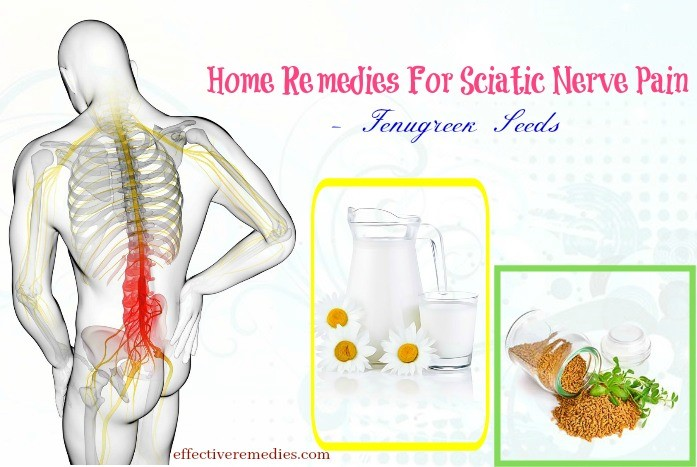 home remedies for sciatic nerve pain - fenugreek seeds