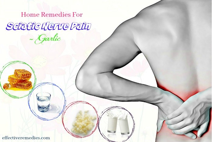 home remedies for sciatic nerve pain - garlic