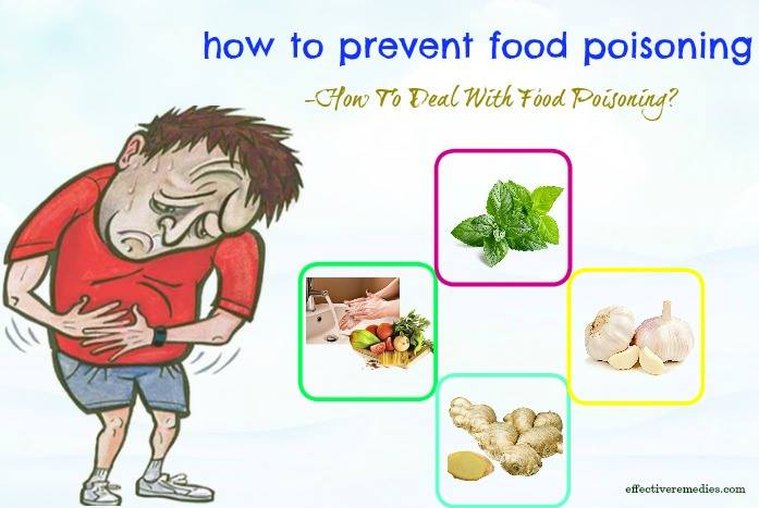 tips on how to prevent food poisoning - how to deal with food poisoning