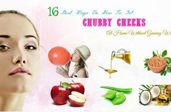 how to get chubby cheeks at home