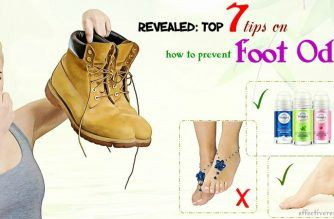 tips on how to prevent foot odor