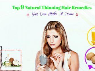 natural thinning hair remedies you can make at home