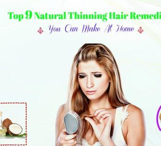 natural thinning hair remedies you can make at home