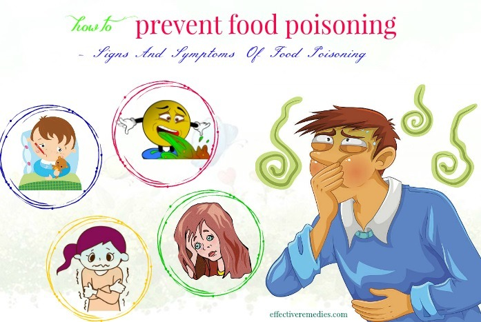how to prevent food poisoning naturally - signs and symptoms of food poisoning