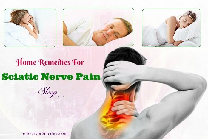 home remedies for sciatic nerve pain - sleep