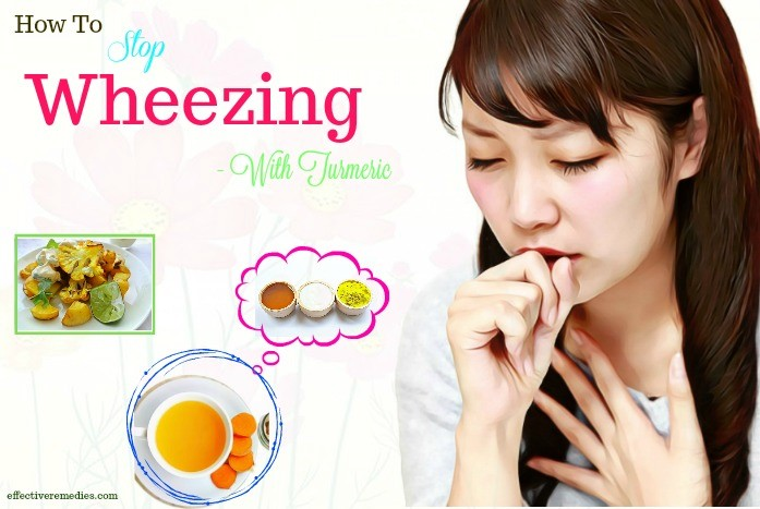 how to stop wheezing naturally - turmeric